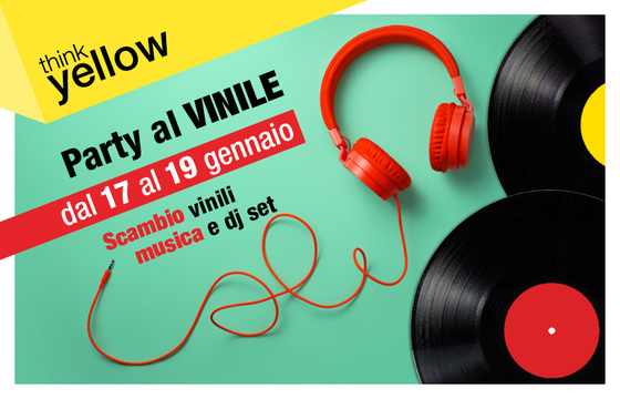 party al vinile evento centro commerciale Ipercity
